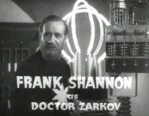 Image result for frank shannon as doctor zarkov